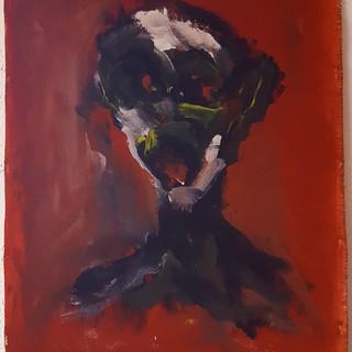 2017-060 Jean Reverdy Homme hurlant pigm