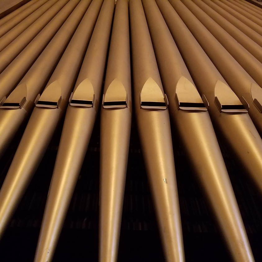 Vaccine Clinic & Pipe Organ Performance!