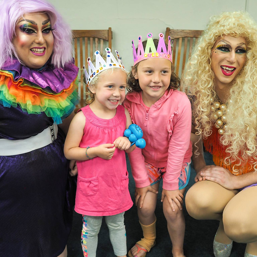 Drag Queen Story Hour with Emoji Nightmare & Nikki Champagne!