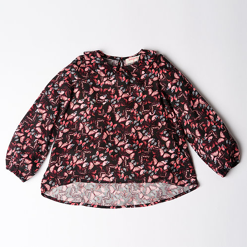 Camicia Bon Ton farfalle