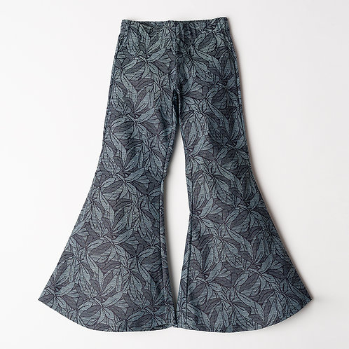 Pantalone Hippie Chic jeans broccato
