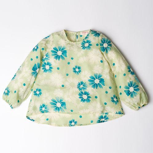 Camicia Bon Ton seta fiori