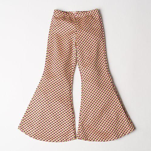 Pantalone Hippie Chic pied de poule