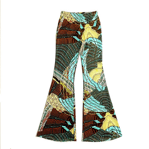 Pantalone Hippie Chic jungle