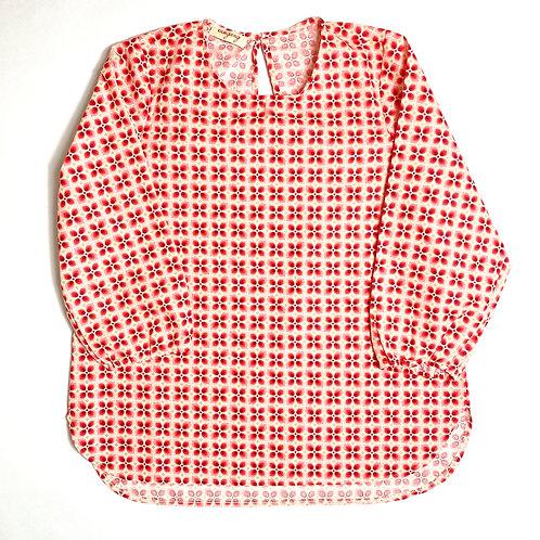 Camicia Etoile fiore anni '70 rosa