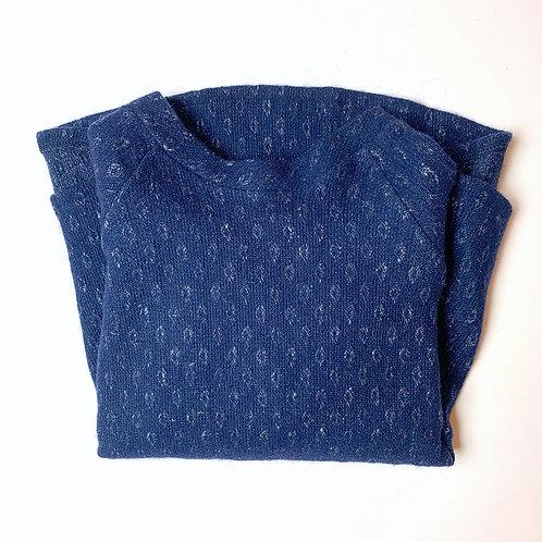 Felpa Matilda lana blu