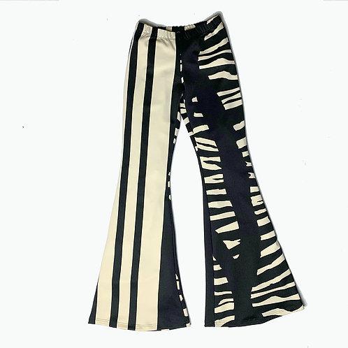 Pantalone Hippie Chic nero geometrico
