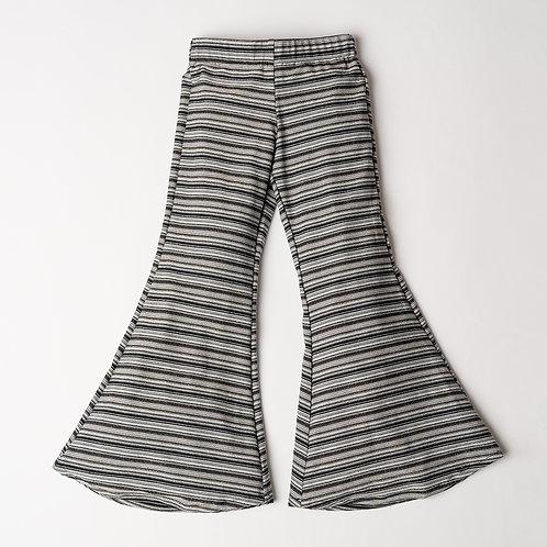 Pantalone Hippie Chic lurex millerighe