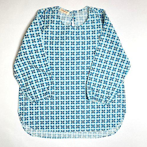 Camicia Etoile fiore anni '70 azzurro