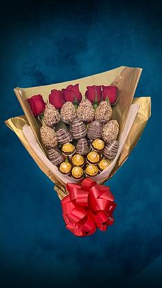Bouquet fresas con chocolate