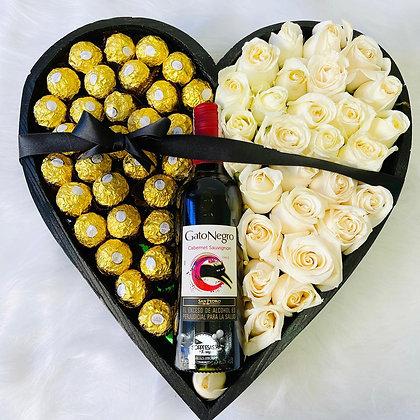 Corazón de Rosas Polo