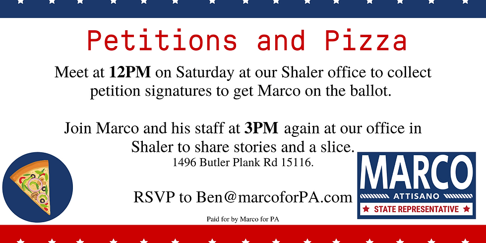 Petitions and Pizza