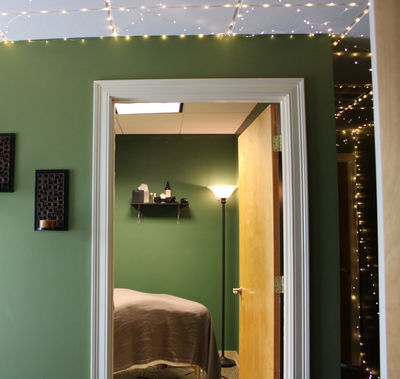 View Into Massage Room