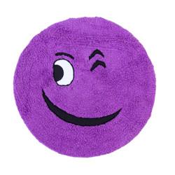 Smiling purple
