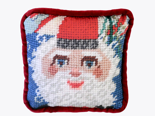 whimsical Santa Claus / Fa Fa Claus feather down pillow