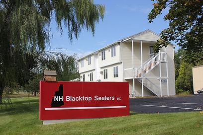Auburn NH blacktop sealers inc sealcoat driveway parking lots crack filling photograph by brandon latham