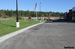 FW Webb parking lot by NH Blacktop 2