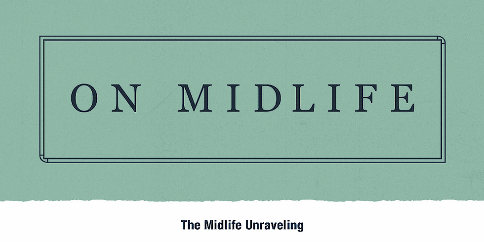 """Fall Soul Circle: """"The Midlife Unraveling"""""""