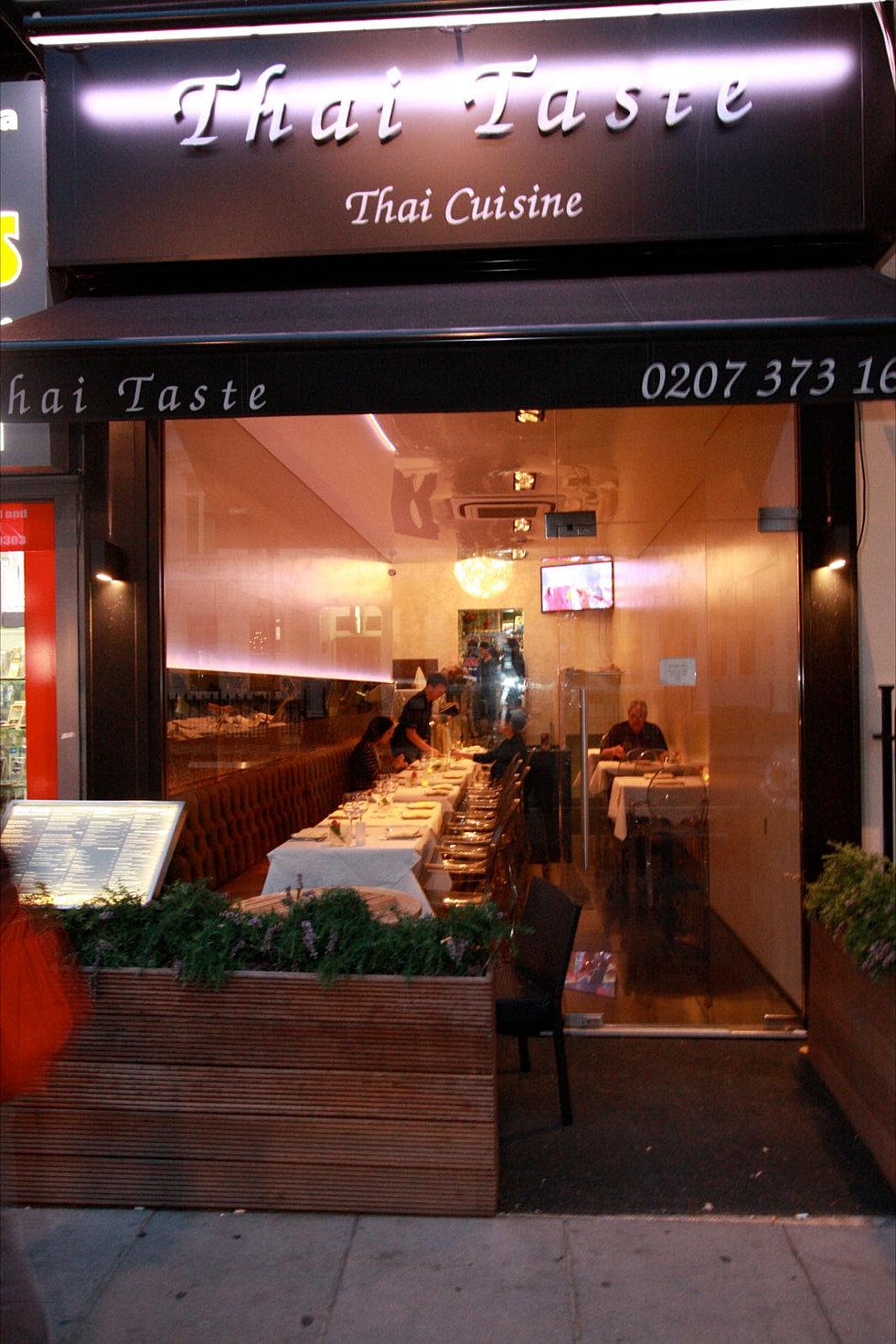 Thai Restaurant London 107