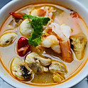 Tom Yum Goong - Spicy Prawn Soup