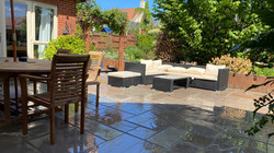 New Patio in Indian Sandstone