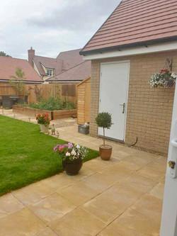 A whole garden design