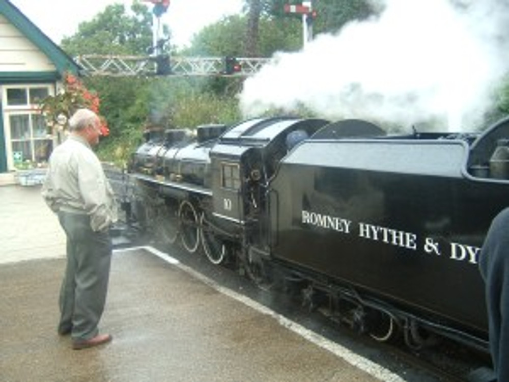 Romney Hythe and Dymchurch Railway Photo John Oyston