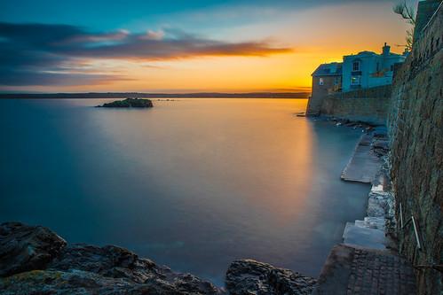 Sunset in Marazion, Cornwall, United Kingdom
