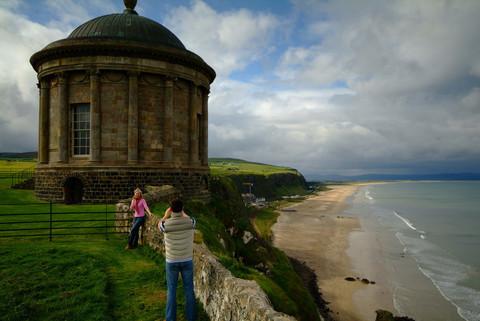 Castlerock from Mussenden Temple Image © Northern Ireland Tourist Board