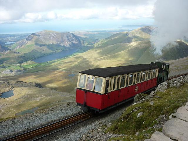 Snowdon Mountain Railway Photo Porius1 under a Creative Commons License