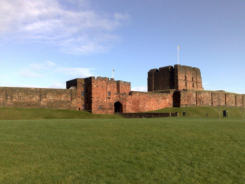 Carlisle Castle Photo Magnus Manske under a Creative Commons License