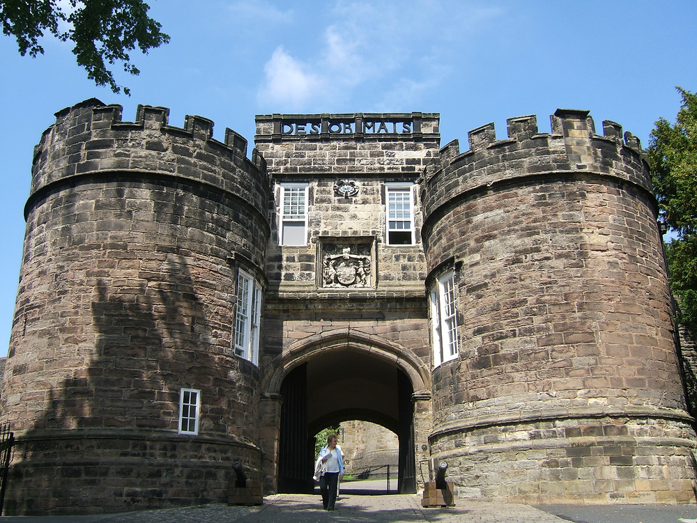 Skipton Castle under a Creative Commons License