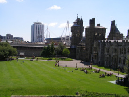 Cardiff – a modern city with history