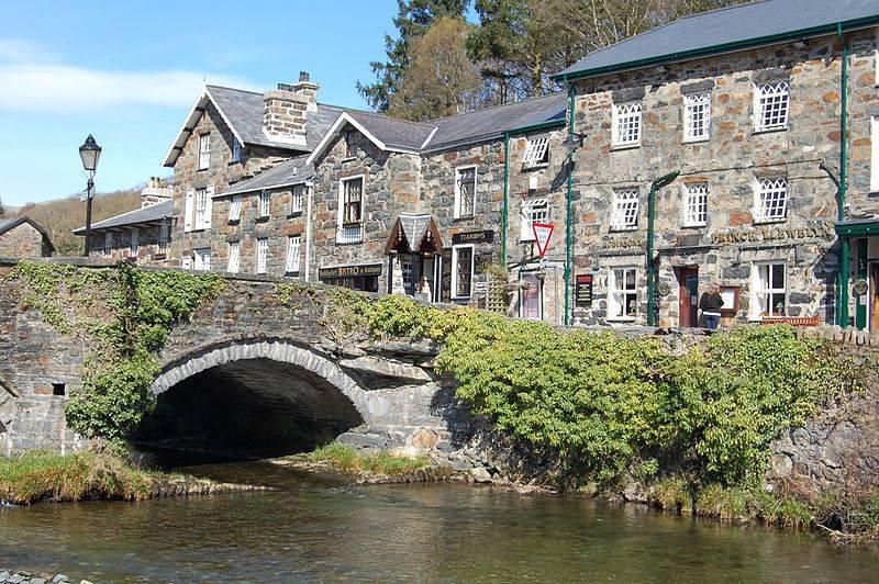 Beddgelert Village Photo John Oyston