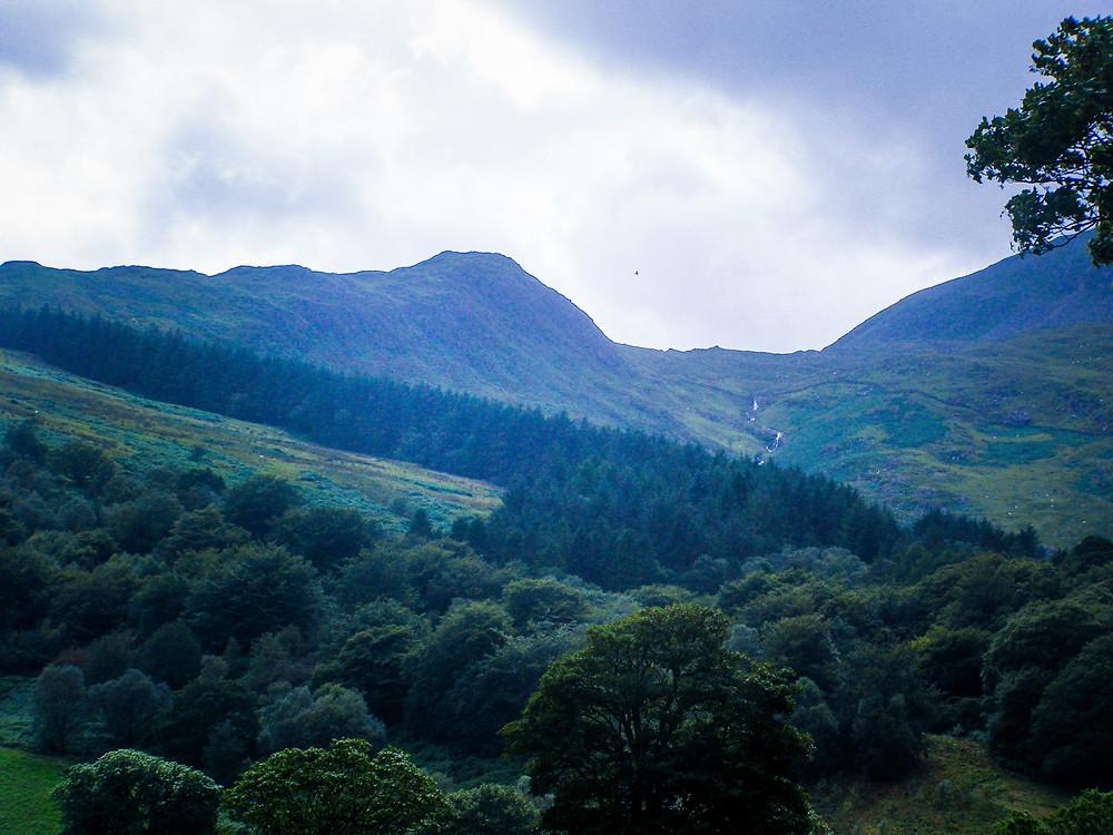 View from Beddgelert Photo John Oyston