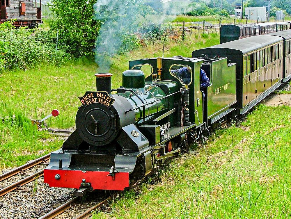 Bure Valley Railway  Photo Copyright Tour Norfolk