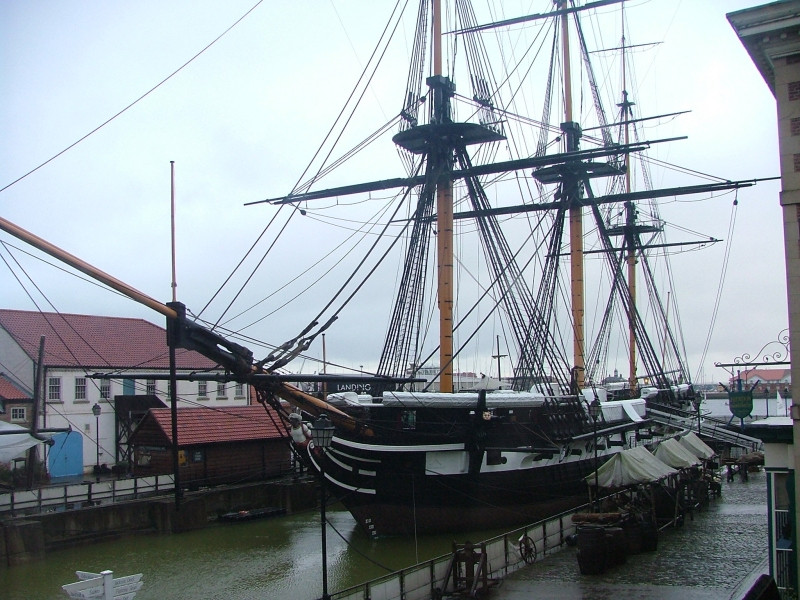 HMS Trincomalee Photo David Manly under a Creative Commons License