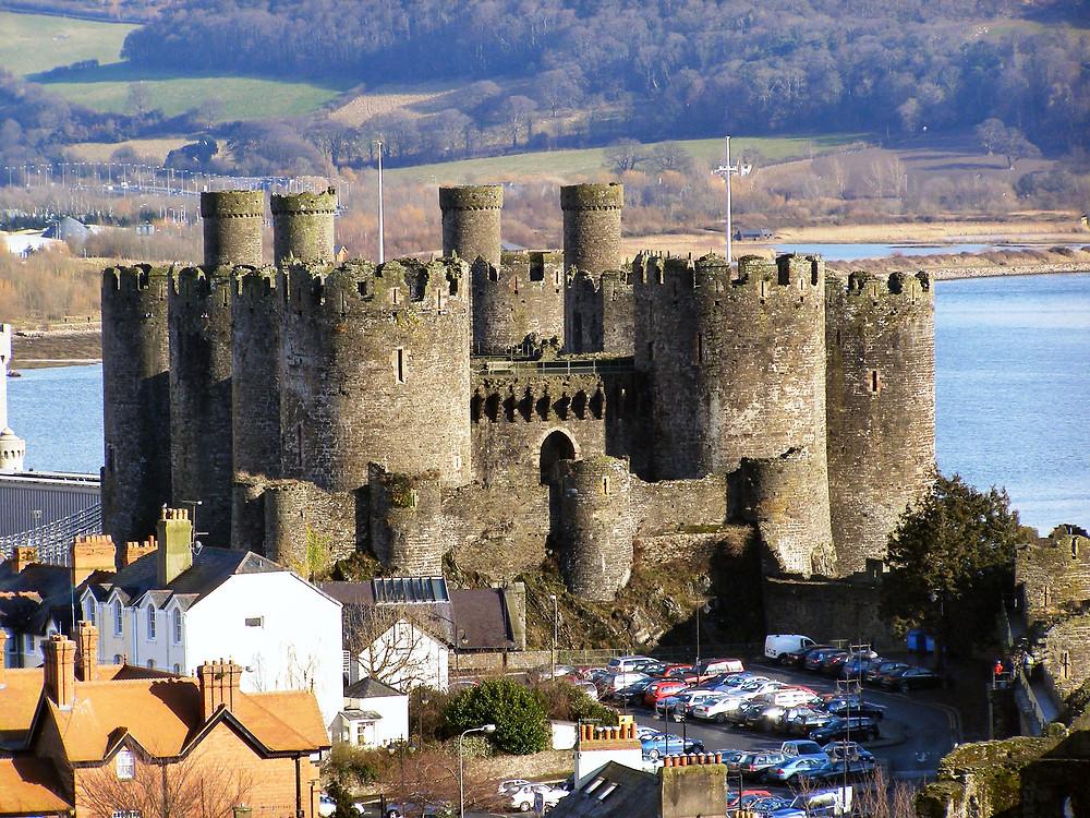 Conwy Castle Photo David Dixon under a Creative Commons License