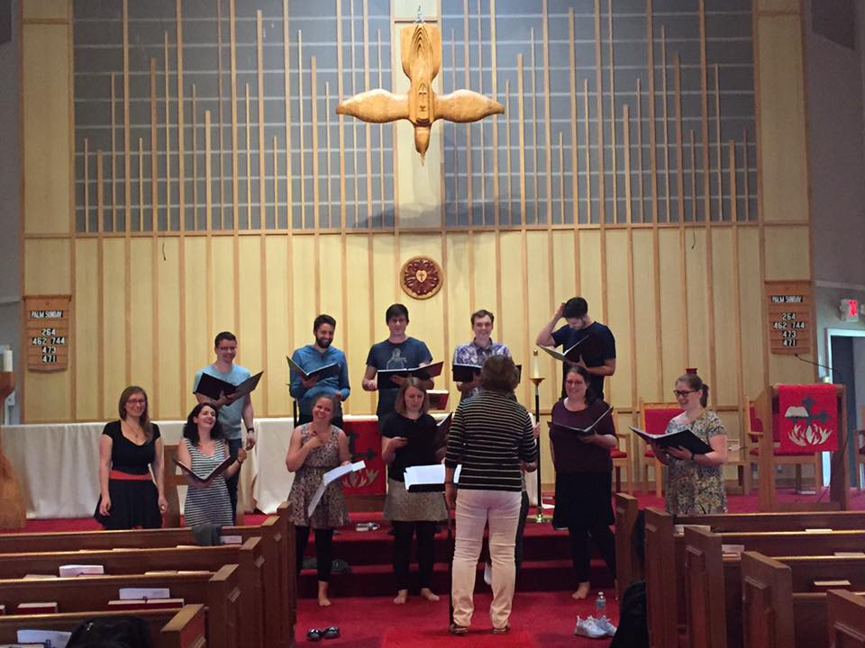 Peace Lutheran Church - Rehearsal