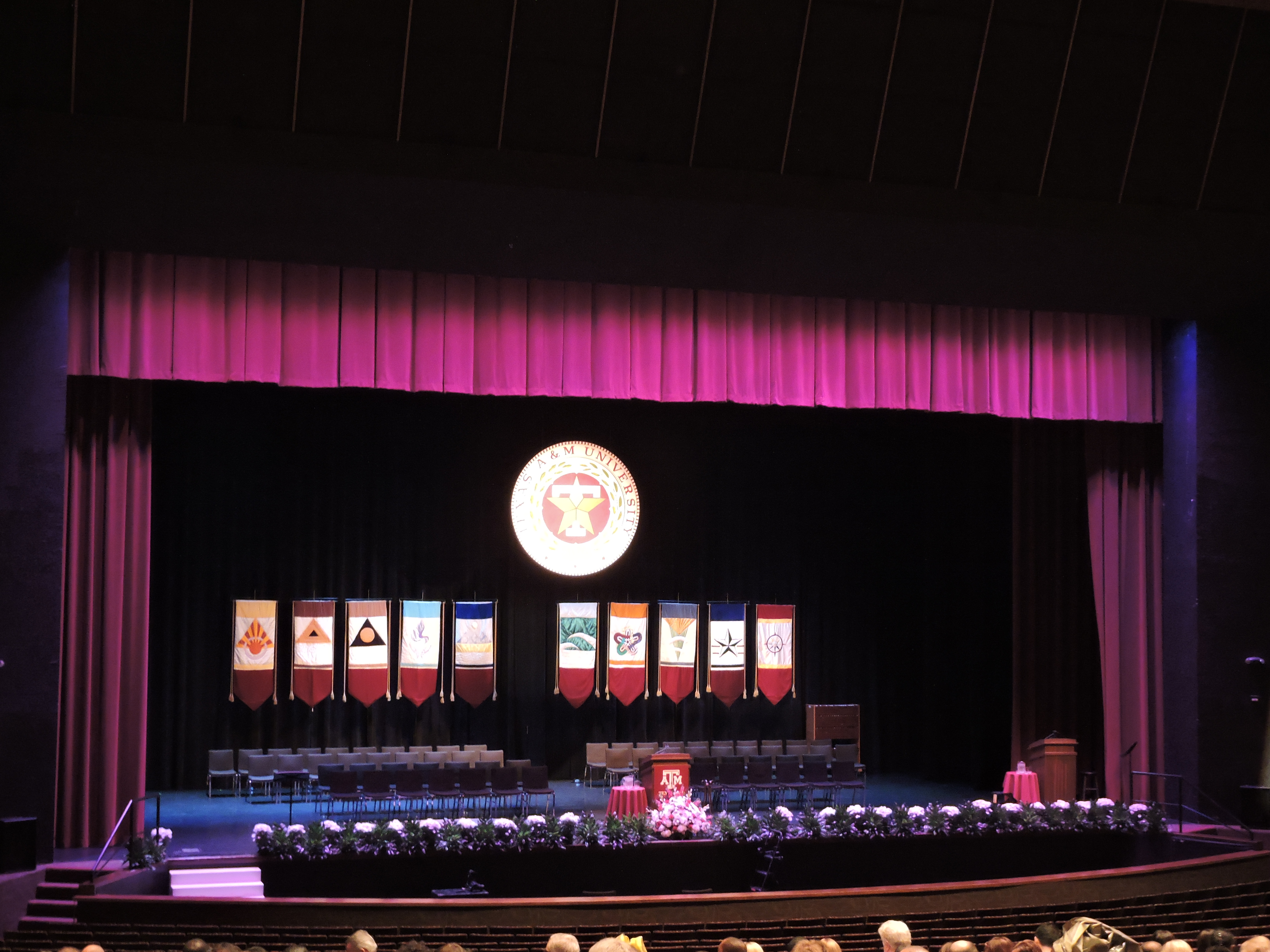 Graduation Ceremony at A&M