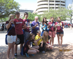Students visiting A&M