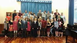 Master Class w/ Blinn Choir Students