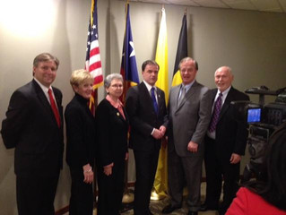 Bastogne,Belgium signs Sister City Agreement with Bryan-College Station