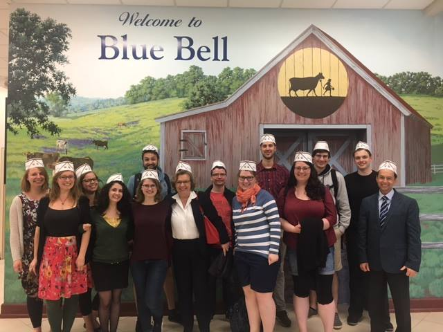 Blue Bell Ice Cream Tour