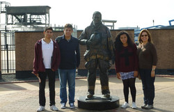 Students from Salamanca,Mexico