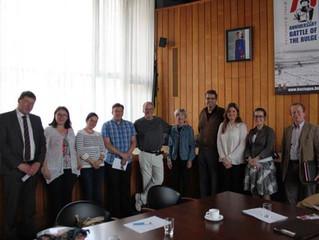Members of B-CS Sister Cities visit Bastogne, Belgium - our newest Sister City