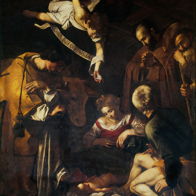 Lights, camera, action! Heavenly tenebrism on life's grit and grime by the Baroque master.