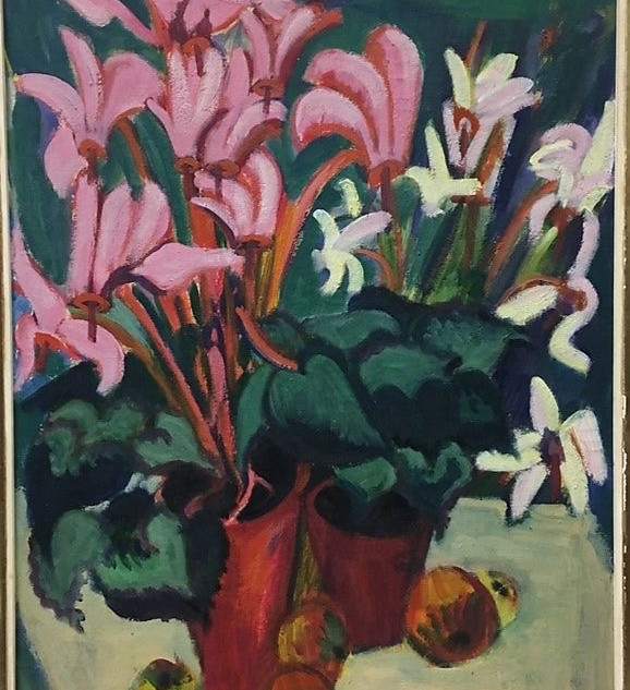 Christmas solace. A shelter in the bold blooms of the German Expressionist.