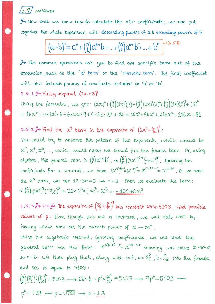 pg11 A&A HL - Topic 1 - Algebra Notes.jp
