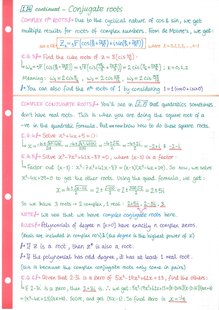 pg20 A&A HL - Topic 1 - Algebra Notes.jp